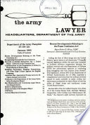 The Army Lawyer Book PDF