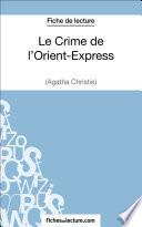 Le Crime de l   Orient Express d Agatha Christie  Fiche de lecture