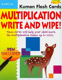 Multiplication Flashcards Write and Wipe