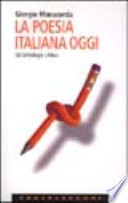 La poesia italiana oggi