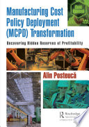 Manufacturing Cost Policy Deployment  MCPD  Transformation