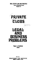 Private Clubs