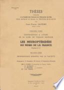 Contribution a l etude de la Flore du Terrain Houiller  Les Neuropteridees du Nord de la France