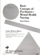 Basic Concepts of Psychiatric mental Health Nursing