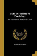 Talks To Teachers On Psycholog