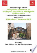 Eciair 2019 European Conference On The Impact Of Artificial Intelligence And Robotics