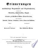 Erinnerungen an merkwürdige Gegenstände und Begebenheiten, verbunden mit erheiternden Erzählungen. Hrsg. von K. E. Rainold