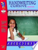 Handwriting Modern Styple Practice Cursive Workbook Gr  1 3