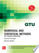 Numerical and Statistical Methods for COMPUTER ENGINEERING  GTU 2016