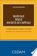 Manuale delle societ   di capitali