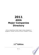ASIA Major Companies Directory