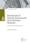download ebook introducción al derecho internacional de los derechos humanos pdf epub