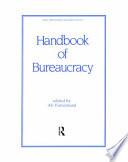 Ebook Handbook of Bureaucracy Epub Ali Farazmand Apps Read Mobile