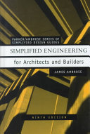 Simplified Engineering For Architects And Builders