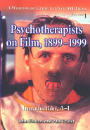 Psychotherapists on Film  1899 1999