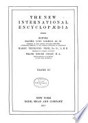 The New International Encyclop  dia