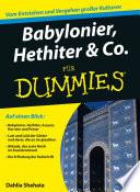 Babylonier  Hethiter und Co  f  r Dummies