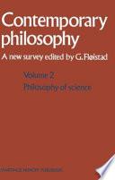illustration du livre La philosophie contemporaine / Contemporary philosophy