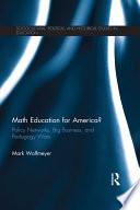 Math Education for America