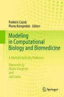 download ebook modeling in computational biology and biomedicine pdf epub
