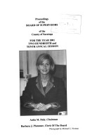 Proceedings Of The Board Of Supervisors Of The County Of Saratoga
