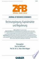 Rechnungslegung, Kapitalmärkte und Regulierung
