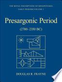 Pre Sargonic Period