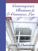 Contemporary Business And E Commerce Law
