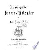 Hamburgischer Staats-Kalender
