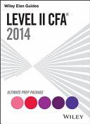 Wiley Elan Guides Level II CFA Ultimate Prep Package