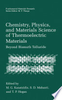 Chemistry  Physics  and Materials Science of Thermoelectric Materials