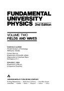 Fundamental University Physics  Fields and waves