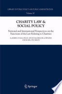 Charity Law   Social Policy