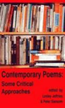 Contemporary Poems   Some Critical Approaches