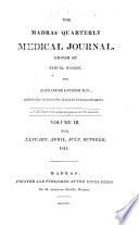 The Madras quarterly medical journal