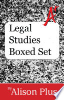 A Guides To Legal Studies Boxed Set