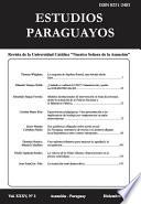 Revista Estudios Paraguayos Volumen 35, Numero 2 - 2017