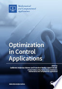 Optimization in Control Applications Issue Optimization In Control Applications That