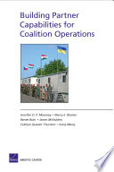 Building Partner Capabilities for Coalition Operations
