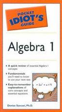 Pocket Idiot s Guide to Algebra I