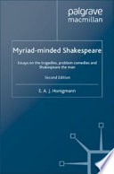 Myriad minded Shakespeare