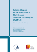 Book Selected Papers of the International Workshop on Smalltalk Technologies (IWST'10)
