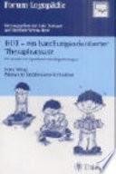 HOT   ein handlungsorientierter Therapieansatz f  r Kinder mit Sprachentwicklungsst  rungen
