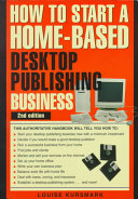 How To Start A Home Based Desktop Publishing Business
