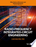 Radio Frequency Integrated Circuit Engineering book