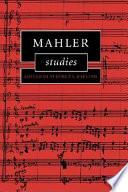Mahler Studies