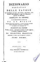 Dizionario portatile delle favole  accresciuto da A L  Millin  tr  da C  Massucco