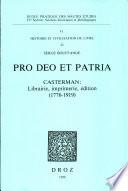 Pro Deo Et Patria