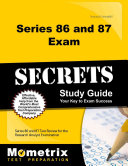 Series 86 and 87 Exam Secrets Study Guide