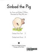 Sinbad the pig